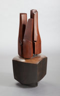 Post-War & Contemporary:Sculpture, JAMES SURLS (American, b. 1943). Untitled, 1967. Oak. 39 x17 x 15 inches (99.1 x 43.2 x 38.1 cm). Signed on base:Sur...