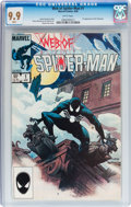 Modern Age (1980-Present):Superhero, Web of Spider-Man #1 (Marvel, 1985) CGC MT 9.9 White pages....
