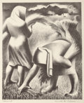 Prints, KENNETH MILLER ADAMS (American, 1897-1966). New Mexico Artists Series No. 1, The University of New Mexico Press: A Po...
