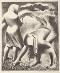 KENNETH MILLER ADAMS (American, 1897-1966) New Mexico Artists Series No. 1, The University of New Mexico Press: