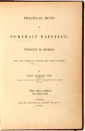 Books:Art & Architecture, John Burnet. Practical Hints on Portrait Painting: Illustrated by Examples from the Works of Vandyke...London: David...