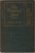 Books:Biography & Memoir, Mary Antin. The Promised Land. Houghton Mifflin, 1912. Firstedition, first printing. Publisher's light blue cloth w...