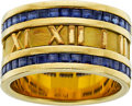 Estate Jewelry:Rings, Sapphire, Gold Ring, Tiffany & Co.. ...