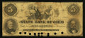 Obsoletes By State:Ohio, Cleveland, OH- The State Bank of Ohio, Commercial Branch $5 Nov. 1,1859 G360a Wolka 0774-25. ...