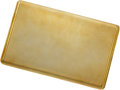 Estate Jewelry:Boxes, Gold Cigarette Case. ...