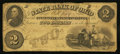 Obsoletes By State:Ohio, Cleveland, OH- The State Bank of Ohio, Merchants' Branch $2 Faded1859 G390 Wolka 0776-11. ...