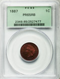Proof Indian Cents: , 1887 1C PR65 Red and Brown PCGS. PCGS Population (54/10). NGC Census: (48/15). Mintage: 2,960. Numismedia Wsl. Price for pr...