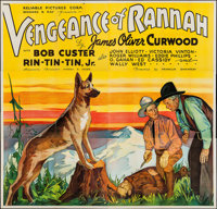 "Vengeance of Rannah (Reliable, 1936). Six Sheet (77"" X 80""). Western"