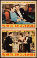 "Movie Posters:Crime, White Shoulders (RKO, 1931). Lobby Cards (2) (11"" X 14""). Crime..... (Total: 2 Items)"