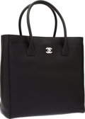 Luxury Accessories:Bags, Chanel Black Caviar Leather Haute Cerf Tote Bag. ...