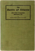 Books:Americana & American History, Major General Grenville M. Dodge. The Battle of Atlanta andOther Campaigns, Addresses, etc. Council Bluffs, Iowa: T...
