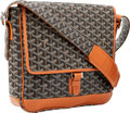 Luxury Accessories:Bags, Goyard Black Monogram Canvas Grand Bleau GM Messenger Bag. ...
