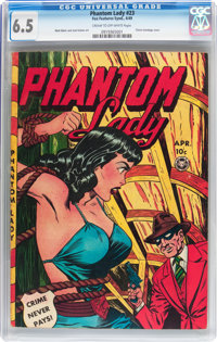 Phantom Lady #23 (Fox Features Syndicate, 1949) CGC FN+ 6.5 Cream to off-white pages