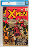 Silver Age (1956-1969):Superhero, X-Men #2 (Marvel, 1963) CGC FN+ 6.5 Cream to off-white pages....