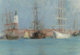 CHARLES STUART FORBES (American, 1860-1926) Ships in Venice Oil on canvasboard 7-1/4 x 10-3/8 inches (18.4 x 26.4 cm)