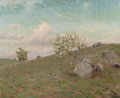 Fine Art - Painting, American:Modern  (1900 1949)  , CHARLES B. FOSTER (American, 1850-1931). Hillside Landscape.Oil on canvas. 22 x 27 inches (55.9 x 68.6 cm). Signed lowe...