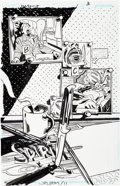 Original Comic Art:Splash Pages, John Paul Leon The Spirit #16 Splash Page 3 Original Art(DC, 2011)....