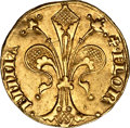 Italy:Florence, Italy: Florence. Republic gold Fiorino d'oro ND (1436),...