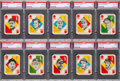 Baseball Cards:Sets, 1951 Topps Blue and Red Back Baseball Complete Sets (2). ...