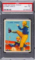 Football Cards:Singles (Pre-1950), 1935 National Chicle Clarke Hinkle #24 PSA NM-MT 8....