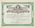 Baseball Collectibles:Others, 1911 Boston Red Sox Stock Certificate Owned by James McAleer....