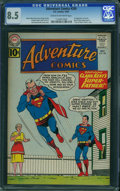 Silver Age (1956-1969):Superhero, Adventure Comics #289 (DC, 1961) CGC VF+ 8.5 Cream to off-whitepages.