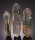 Minerals:Cabinet Specimens, QUARTZ CRYSTALS: LOT of 3. Seminário Farm, Joaquim Felício,Minas Gerais, Brazil. ... (Total: 3 Items)
