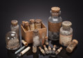 Minerals:Museum Specimens, ANTIQUE BOTTLES of MINERALOGICAL INTEREST. ... (Total: 7 Items)