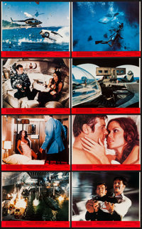 "The Spy Who Loved Me (United Artists, 1977). Mini Lobby Card Set of 8 (8"" X 10""). James Bond. ... (Total: 8 It..."