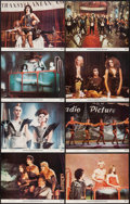 """Movie Posters:Rock and Roll, The Rocky Horror Picture Show (20th Century Fox, 1975). Lobby CardSet of 8 (11"""" X 14""""). Rock and Roll.. ... (Total: 8 Items)"""
