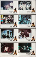 "Movie Posters:Science Fiction, A Clockwork Orange (Warner Brothers, 1971). Lobby Card Set of 8(11"" X 14""). Science Fiction.. ... (Total: 8 Items)"