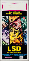 "Movie Posters:Exploitation, LSD Flesh of Devil (International Gold, 1967). Italian Locandina(13"" X 27.5""). Exploitation.. ..."