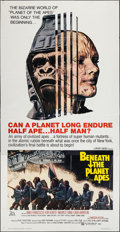 "Movie Posters:Science Fiction, Beneath the Planet of the Apes (20th Century Fox, 1970). ThreeSheet (41"" X 78""). Science Fiction.. ..."