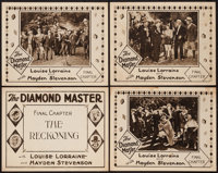 "The Diamond Master (Universal, 1929). Title Lobby Card & Lobby Cards (3) (11"" X 14"") Chapter 10 --""Th..."