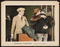 """His Majesty, the American (United Artists, 1919). Lobby Card (11"""" X 14""""). Adventure"""