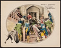 "Movie Posters:Swashbuckler, The Three Musketeers (United Artists, 1921). Lobby Card (11"" X 14""). Swashbuckler.. ..."