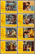 """Movie Posters:Adventure, Omar Khayyam & Other Lot (Paramount, 1957). Lobby Card Set of8, & Lobby Cards (12) (11"""" X 14""""). Adventure.. ... (Total: 20Items)"""