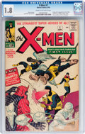 Silver Age (1956-1969):Superhero, X-Men #1 (Marvel, 1963) CGC GD- 1.8 Cream to off-white pages....