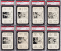 Baseball Cards:Sets, 1936 S and S Baseball Complete Set (52) Plus Direction Cards and Contest Slip. ...