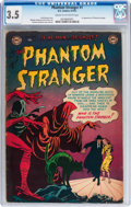 Golden Age (1938-1955):Horror, The Phantom Stranger #1 (DC, 1952) CGC VG- 3.5 Cream to off-whitepages....