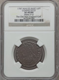 Colonials, 1787 COPPER Connecticut Copper, Mailed Bust Left XF40 NGC. M. 9-D, W-2850, High R.5....