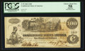Confederate Notes:1862 Issues, T39 $100 1862 PF-2 Unlisted.. ...
