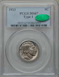 Buffalo Nickels: , 1913 5C Type One MS67 PCGS. CAC. PCGS Population (463/13). NGCCensus: (275/8). Mintage: 30,993,520. Numismedia Wsl. Price ...