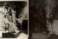 Books:Prints & Leaves, Oversize Photograph and Negative Depicting Mrs. Grover Clevelandbeing Sketched by Sculptor St. Gauden. Measures 14 x 11 inc...