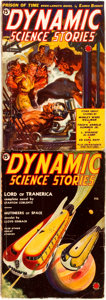 Books:Science Fiction & Fantasy, Pair of Dynamic Science Stories Issues. Volume one, issues one and two. Chicago: Western Fiction, 1939. Publishe... (Total: 2 Items)
