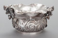 Other:American, A ROGERS, SMITH & CO. SILVER-PLATED FIGURAL BOWL. Rogers, Smith& Co., New Haven, Connecticut, circa 1885. Marks: ROGERSS...