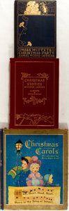 Books:Children's Books, [Christmas]. Lot of Three Illustrated Christmas Books. [Various,various dates]. Various editions. One quarto and two octavo...(Total: 3 Items)