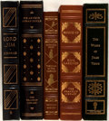 Books:Fine Press & Book Arts, [Franklin Press, Easton Press, State Street Press]. Lot of FiveBooks. [Various places, presses, dates]. Generally very good...(Total: 5 Items)