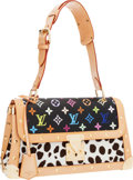Luxury Accessories:Bags, Louis Vuitton 2004 Limited Edition Monogram Dalmatian by TakashiMurakami Multicolor Sac Rabat Bag. ...
