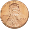 Lincoln Cents: , 1984 1C MS66 Red NGC. Doubled Ear. NGC Census: (20/34). PCGSPopulation (96/230). (#3059)...
